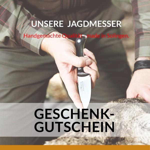 OTTER GESCHENKGUTSCHEIN   Motiv Jagd